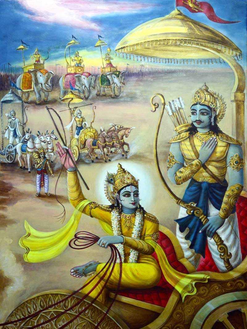 Gita Dhritarashtra Sanjaya