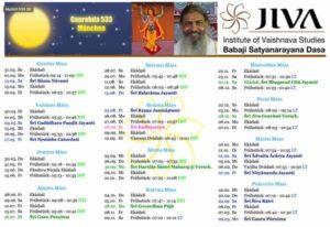 Yoga Kalender 2019-2020